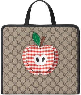 Gucci Children's tote bag with apple