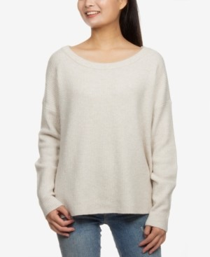 Hippie Rose Juniors' Boxy Sweater
