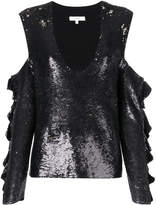 IRO cut-out sequin blouse