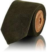 Prada Men's Two-Toned Cotton Corduroy Necktie