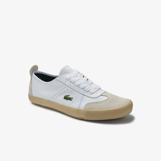 Lacoste Women's Contest Leather and Suede Trainers
