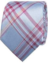 Geoffrey Beene Plaid Check Tie