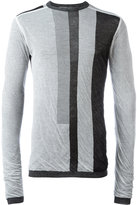 Rick Owens striped jumper - men - Cotton - M