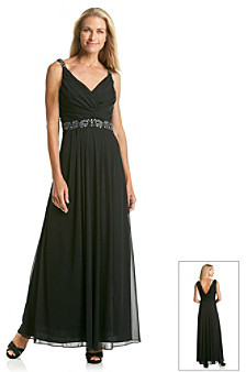 Cachet Drape Back Gown