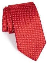 Armani Collezioni Men's Fleck Print Silk Tie