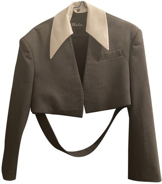 we11done Grey Jacket for Women