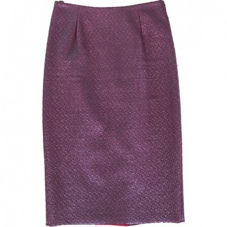 Pinko Burgundy Skirt for Women