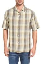 Tommy Bahama Plaza Original Fit Plaid Camp Shirt