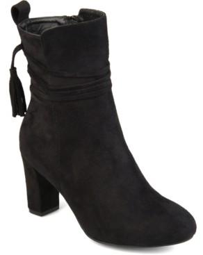 Journee Collection Women's Zuri Bootie Women's Shoes