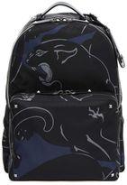 Valentino Garavani Printed Canvas Backpack