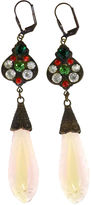 One Kings Lane Vintage 1930s Czech Crystal Earrings