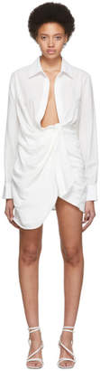 Jacquemus White La Robe Bahia Dress