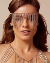 Agent Provocateur Akiko Eyemask Rosegold and Silver
