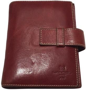 Lancel Burgundy Leather Purses, wallets & cases