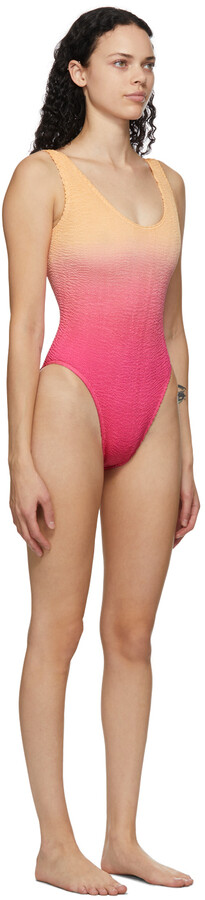 Thumbnail for your product : BOUND by Bond-Eye Pink & Orange 'The Mara' One-Piece Swimsuit