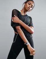 Nike Mesh Top In Black