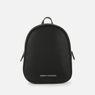 Armani Exchange Women's Mini Backpack - Black