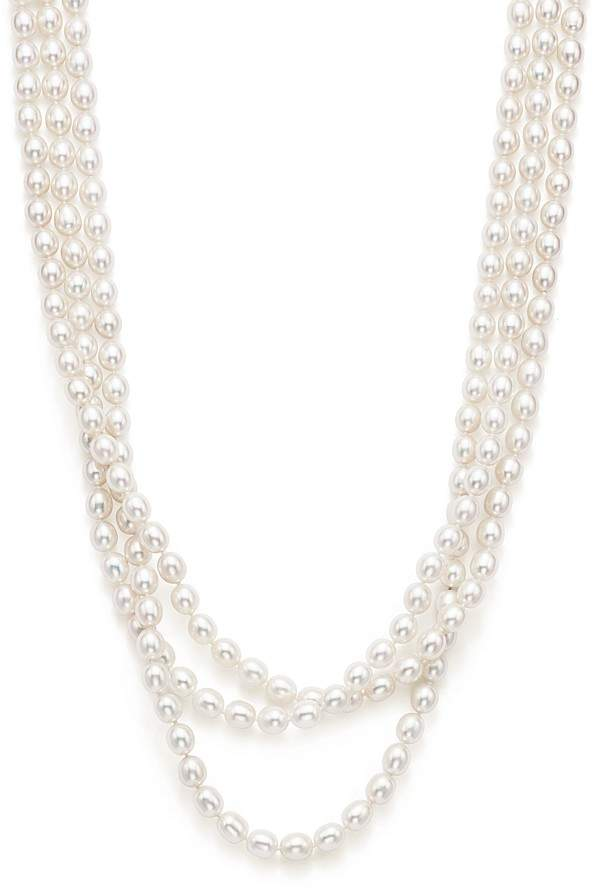 """Bloomingdale's Cultured Freshwater Ming Pearl Endless Strand Necklace, 80"""""""