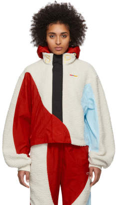 Pyer Moss Reebok By Reebok by Off-White and Red Collection 3 Hooded Windbreaker