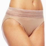 Warner's WARNERS No Pinching, No Problems. High-Cut Lace Panties - 5109