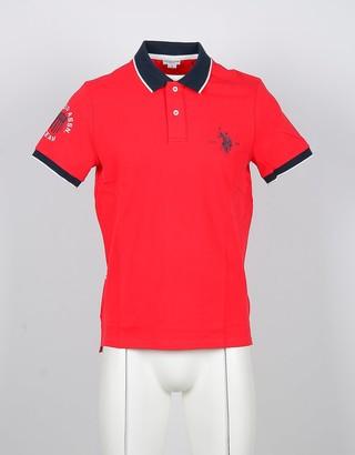 U.S. Polo Assn. Red Cotton Men's Polo Shirt