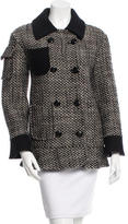 Moschino Cheap & Chic Moschino Cheap and Chic Tweed Virgin Wool Jacket