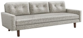 """Interlude Aventura 93"""" W Square Arm Sofa Upholstery Color: Feather"""