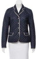 Bogner Quilted Notch-Lapel Jacket