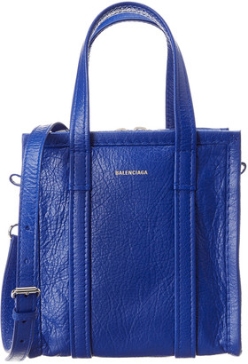 Balenciaga Bazar Shopper Xxs Leather Tote