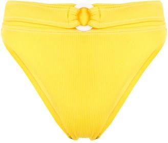 SUBOO Belted High-Cut Bikini Bottoms