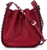 Valentino Garavani Valentino Rockstud bucket shoulder bag - women - Leather/metal - One Size