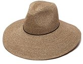 Ale By Alessandra 'ale by alessandra Women's Sancho Adjustable Toyo Hat with Leather Trim