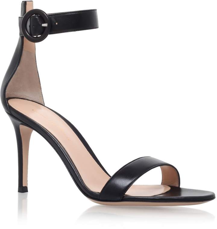 Gianvito Rossi Leather Louis Sandals