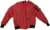 Canada Goose Red Fur Coat for Women
