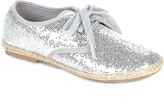 Jelly Beans Silver Hema Oxford Espadrille