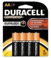 Duracell Coppertop Batteries