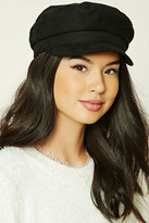Forever 21 Faux Suede Cabby Hat