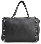 Deux Lux Empire Strikes Back Small Duffle Handbag in Black
