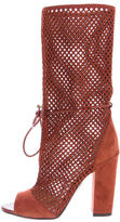 Paul Andrew Suede Amirah Mid-Calf Boots