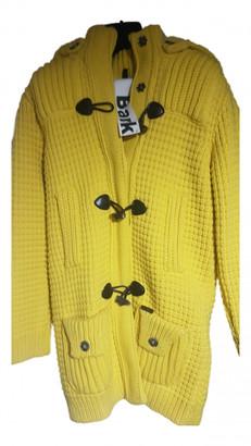 Bark Yellow Wool Jackets & Coats