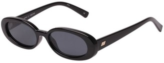 Le Specs Outta Love Sunglasses Black