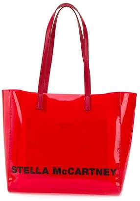 Stella McCartney small logo print tote