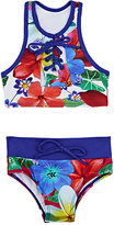 Submarine Floral Two-Piece Swimsuit