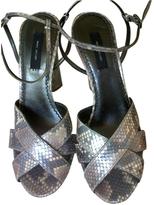 Marc Jacobs Python Leather Sandals