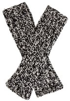 Missoni Fingerless Knit Gloves