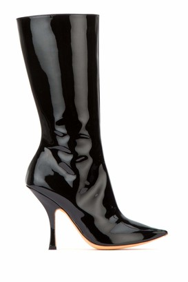 Y/Project Y / Project Patent Pointed Toe Boots