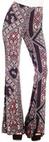 Jessica Simpson Moxie Printed Flared Pants