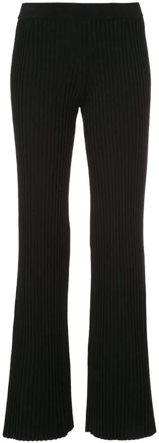 232e02b4 Rib Knit Flare Pants - ShopStyle