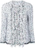 Coohem multi dot tweed jacket