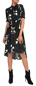 BA&SH ba & sh Poppy Floral High/Low Dress